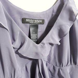 Bisou Bisou Tops - Bisou Bisou by Michele Bohbot Blouse Size 6